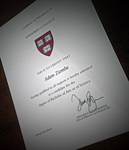 Certification Harvard