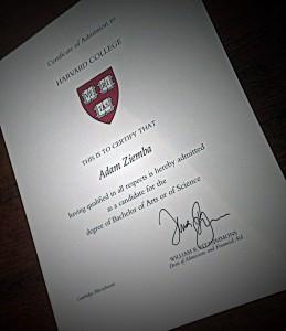 Certification Harvard
